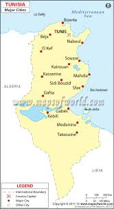 Cities In Italy Map by Tunisia Cities Map Major Cities In Tunisia