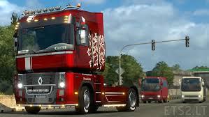 renault truck magnum renault magnum metallic czech skin ets 2 mods