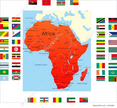 Maps Of Africa by Signs And Info Map Of Africa Stock Illustration I1978069 At