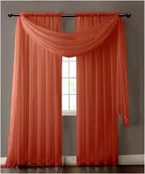 Burnt Orange Sheer Curtains Burnt Orange Curtains Size Of Curtains Orange Sheer Curtains