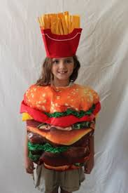 French Fry Halloween Costume Boutique Kids Hamburger French Fries Costume Size Halloween