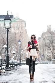 double winter layered peacoat u0026 striped scarf wendy u0027s