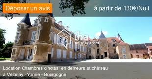 chambre d hotes vezelay chambres d hôtes à vézelay dans un parc iha 50164