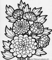 printable coloring pages for adults flowers coloring pages flowers coloring page flower coloring