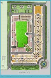 residential site plan sarvottam golden i residential project greater noida west