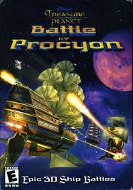 disney u0027s treasure planet battle procyon 2002 windows box