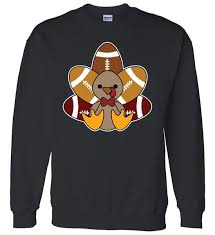 football turkey thanksgiving sweater teeshirtpalace