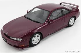 nissan purple otto mobile ot210 scale 1 18 nissan silvia s14a coupe 1997 purple