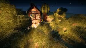 forest house minecraft by tasstomaster on deviantart