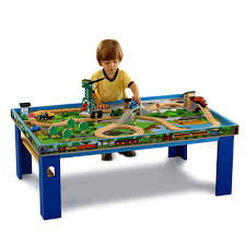 thomas train set wooden table friends wooden railway island of sodor play table