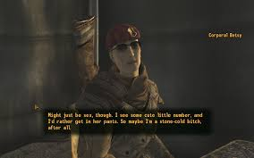 Fallout New Vagas Porn - almost missed this stone cold butch reference in fallout new