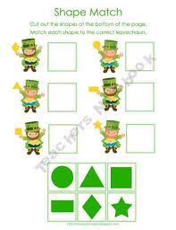 st patrick u0027s day math activities for preschool