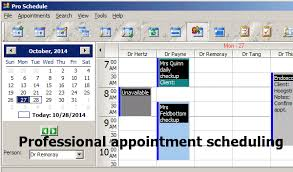 pro schedule best appointment scheduling software