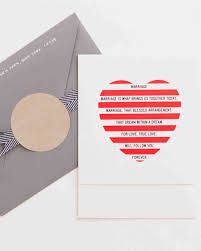 invitations from real weddings martha stewart weddings