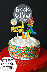 m cake topper cake topper for back to school nest of posies
