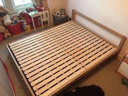 muji ash double bed not habitat ikea in ealing london gumtree