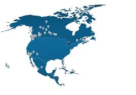 One World Route Map by Destinations U0026 Route Map Hamilton International Airport