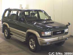 1997 isuzu bighorn trooper green for sale stock no 38984