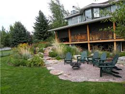 Gravel Backyard Ideas Backyard Gravel Landscaping Cost How To Landscape With Gravel