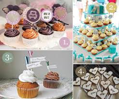 custom cupcake toppers cupcake flags for your untraditional wedding dessert