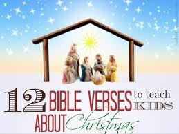 12 bible verses to teach kids about christmas kids activities