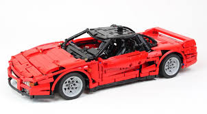 lego ferrari f40 honda the lego car blog