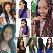 medium size packaged pre twisted hair for crochet braids medium size 3s pretwist box braids crochet braids synthetic hair