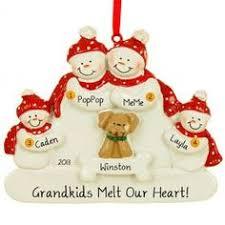 our grandchild ornament grandparents