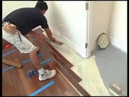 Installing Wood Floors On Concrete Installing Hardwood Floors Over Concrete Youtube