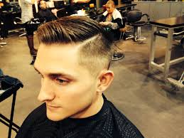 mens cut side part fade danielle cosmo hair artist pinterest