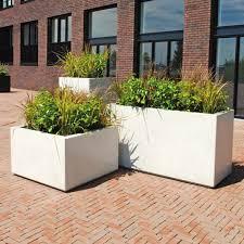 concrete planter vertical square rectangular brick velopa