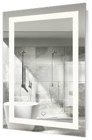 Designer Bathroom Mirrors Led Lighted 24x36 Bathroom Mirror Wall Mount With Defogger