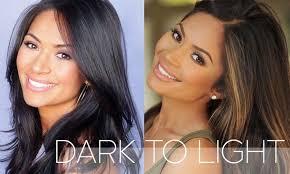 how to lighten dark brown hair to light brown how to lighten dark hair at home lightening dark hair dark hair