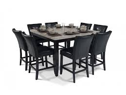 granite pub table and chairs montibello 54 x 54 pub 9 piece set dining room sets dining