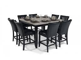 granite top round pub table montibello 54 x 54 pub 9 piece set dining room sets dining