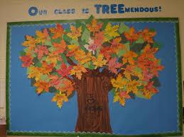 Fall Tree Decorations Kindergarten Kindergarten September Fall Tree Classroom Door
