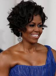 ms obamas hair new cut michelle obama hairstyles celebrity latest hairstyles 2016