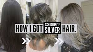 putting silver on brown hair how to go dark brown to silver ash tips advice on process