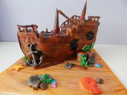 pirate ship cake sunken pirate ship cake cakecentral