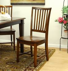 amazon com carolina classic hudson dining chair chestnut chairs