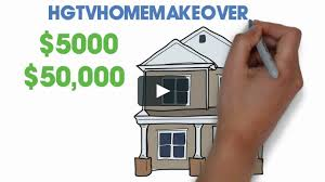 hgtv win a 50 000 sweepstakes home makeover from hgtv 2015 on vimeo