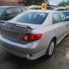 toyota corolla s 2009 for sale tin can cleared tokunbo clean 2009 toyota corolla sport for sale
