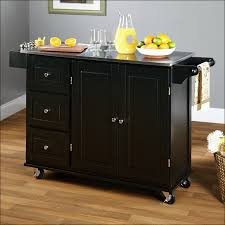 kitchen kitchen cabinet on wheels portable island with seating