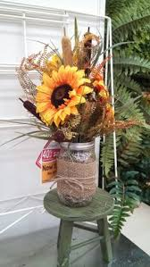 Mason Jar Arrangements 25 Creative Floral Designs With Sunflowers Sunny Summer Table