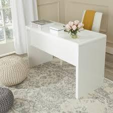 bureau blanc laqué comment décorer un bureau laqué blanc 61 photos inspirantes