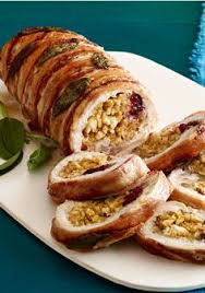 rolled stuffed turkey breast recipe favorites