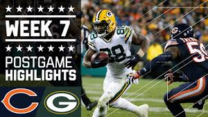 holloween images bears vs packers nfl week 7 game highlights youtube
