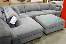 Sectional With Ottoman Costco Bainbridge Fabric Sectional With Ottoman 899 99 Frugal
