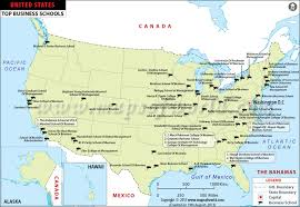 map us colleges top business schools and colleges in us
