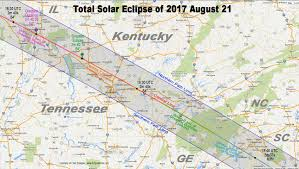 Georgia State Map by Totality Maps By State U2013 American Eclipse 2017